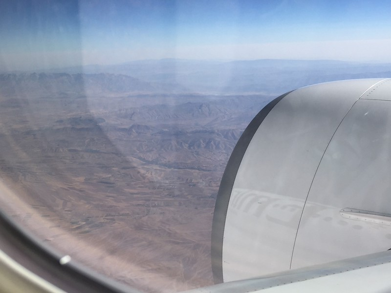 The desert...