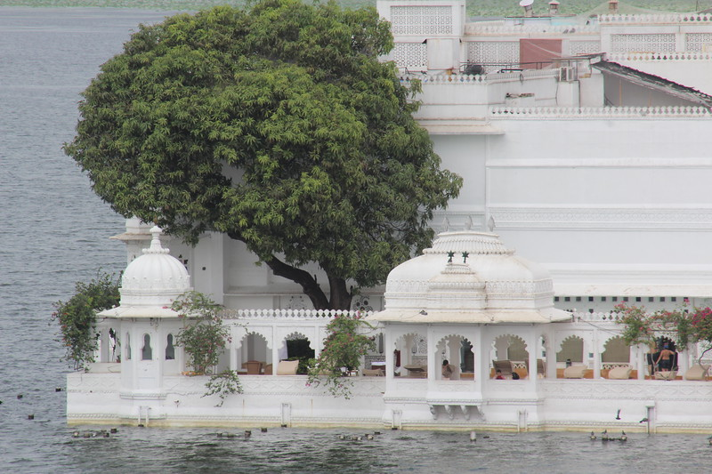 Detail of the Lake Palace.