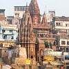 Ancient emples on the holy River Ganges