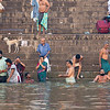 On the holy River Ganges