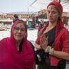 At the Holy Lake, Pushkar, Rajasthan, India