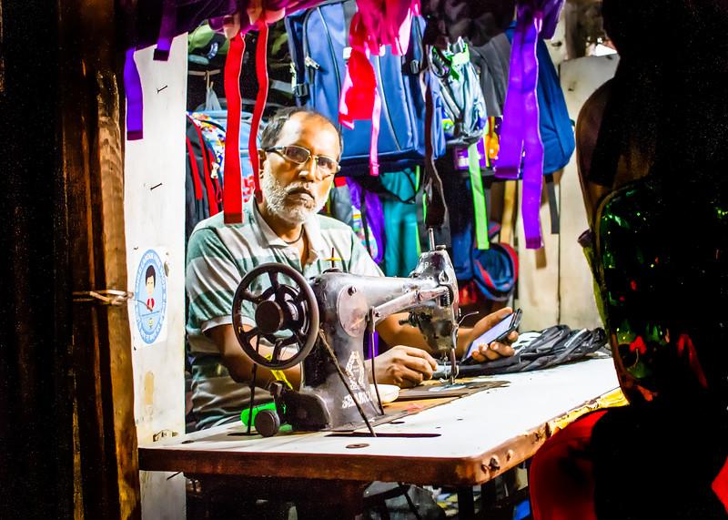 Tailor in Bombay