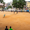 Cricket match in Bangalore