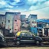 Dharavi - largest slum in Asia (Bombay)