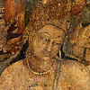 Bodhisattva of the Blue Lotus in Cave No. 1.