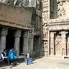 Facade of temple in Cave No. 19.