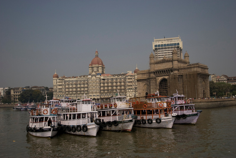 Boat to Elephanta Island