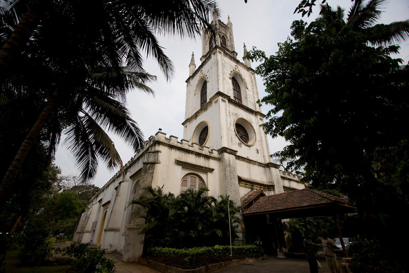 St. Thomas Cathedral - Oldest English building in Mumbai