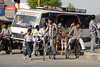 How many modes of transportation can be seen in India?