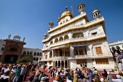 The Golden Temple, Amritsar - surrounding buildings