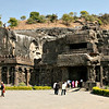 Unlike Buddhist Ajanta, Ellora celebrates three major religions.