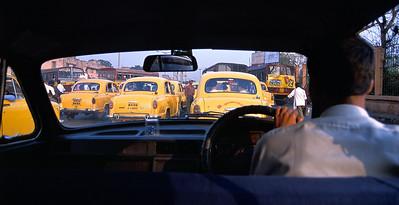 Kolkata taxis.