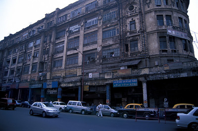 Downtown Kolkata has known better times.