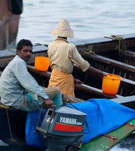 Fishing boat, Cochin, Kerala.