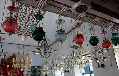 The synagogue of Cochin, Kerala.