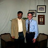 Pratap and Tom at Sola Topee. This place had terrific food. Will definitely go back!