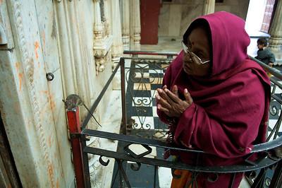 Karni Mata temple, Deshnok, near Bikaner.