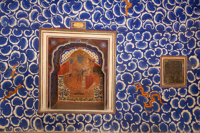 Rain room, Junagarh fort, Bikaner.