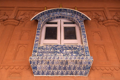 Dutch tiles, Junagarh fort, Bikaner.