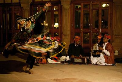 Folkdance, Gajner Palace, Gajner, Bikaner.