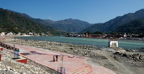 The Ganges, Rishikesh.