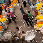 Flower Market near Hooghly River, Kolkata