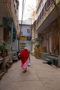 Walking tour in Old Delhi