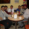 A Thursday evening Coffee Break: Daleep, Sumeet, Tom, Vikram, Samir, and Gurdev.