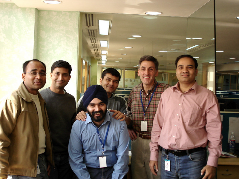01/20/06: The Trinity Project Management Team: Pritam, Samir, Gurdev, Sumeet, Tom, and Vikram.