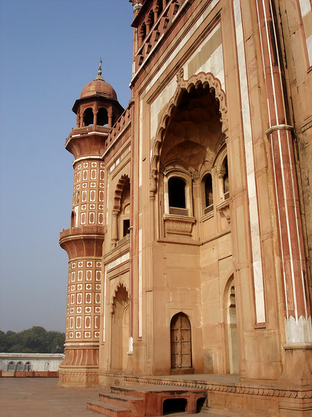 I was intrigued by the Mughal architecture.