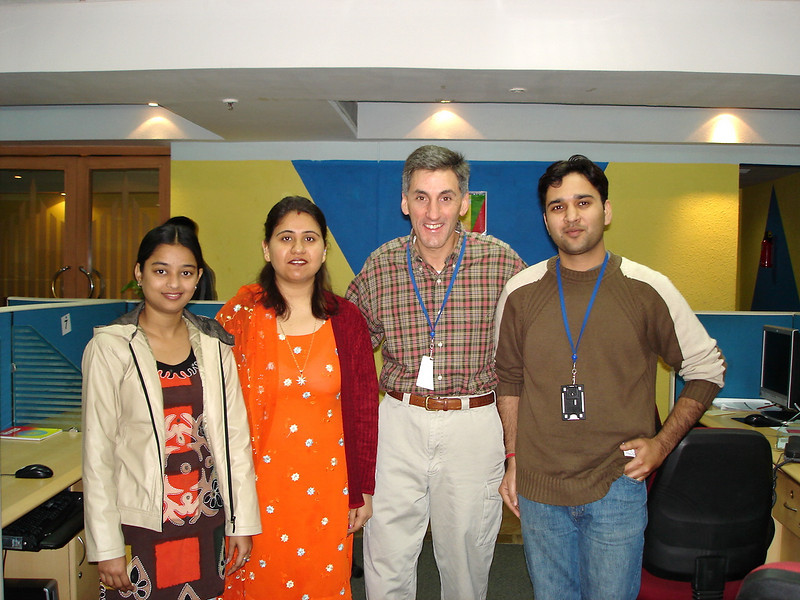 Leena Sharma and her Development Team!