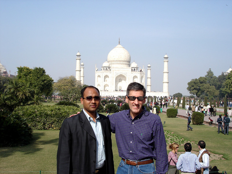 01/15/06: Pritam Kumar, a Trinity Project Management colleague, who accompanied me to Agra.