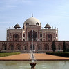Hamida Banu Begum, his grieving widow, built Emperor Humayun's mausoleum.