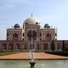 Hamida Banu Begum, his grieving widow, built Emperor Humayun's mausoleum.