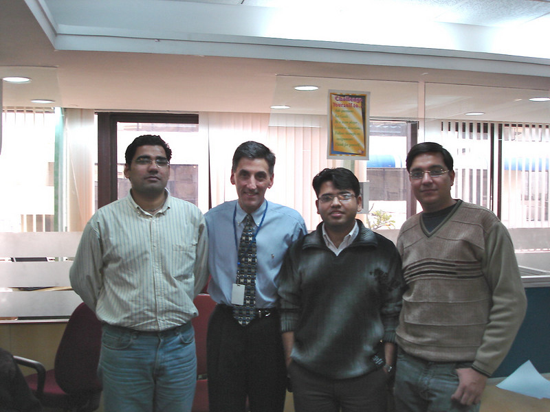 01/18/06: Kartik Sharma, Deepak Vij, and Vivek Chopra