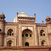 01/19/06: Safdarjang's Tomb. It is described as the last flicker in the lamp of Mughal architecture within Delhi.