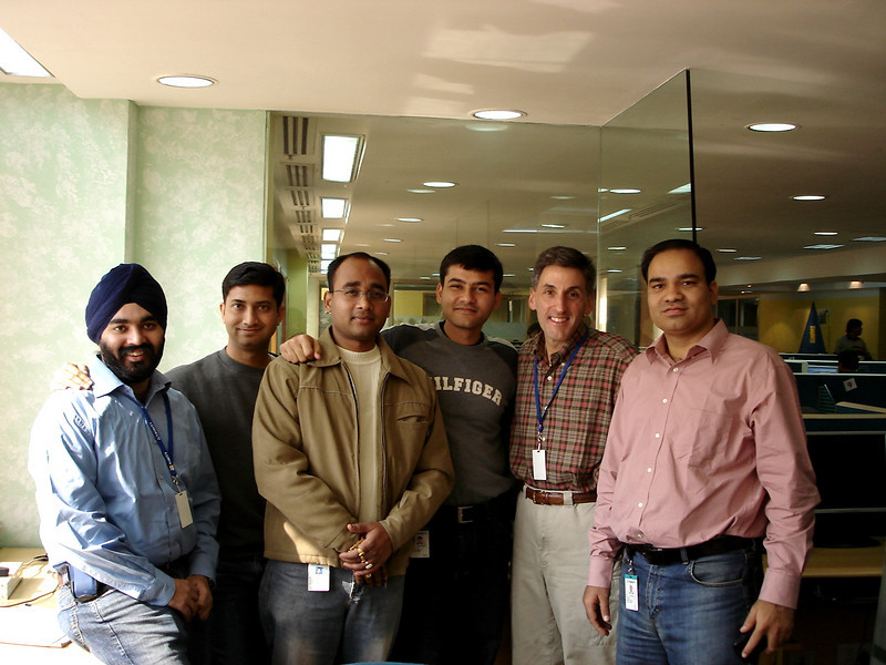 01/20/06: The Trinity Project Management Team: Gurdev, Samir, Pritam, Sumeet, Tom, and Vikram.