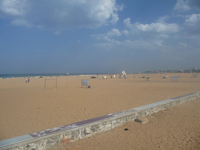 Elliot's Beach on the east coast of India.  This is facing southeast.