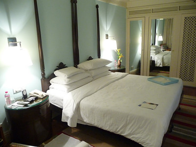 Double the price but worth it.  Rps 9000 which comes to roughly $180 per night.