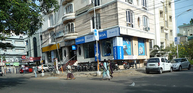 A Nokia store somewhere in Chennai, don't ask me where