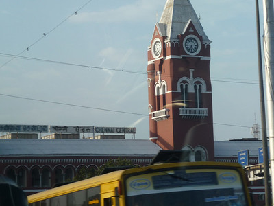 Chennai Central Train Station