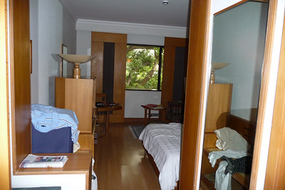 My original room, 2nd floor facing the road before moving downstairs facing the pool and fitness center.