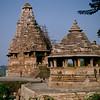 Visvanatha Temple and Nandi Shrine.