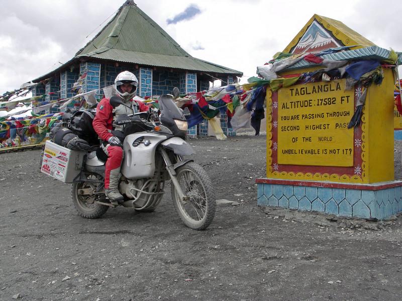 Taglanga La. Manali - Leh road day 3