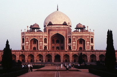 Humanyu's Tomb, New Delhi.