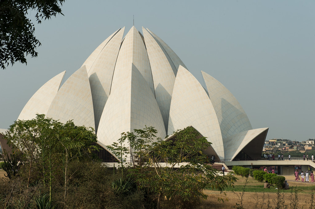 B'hai temple..Delhi.