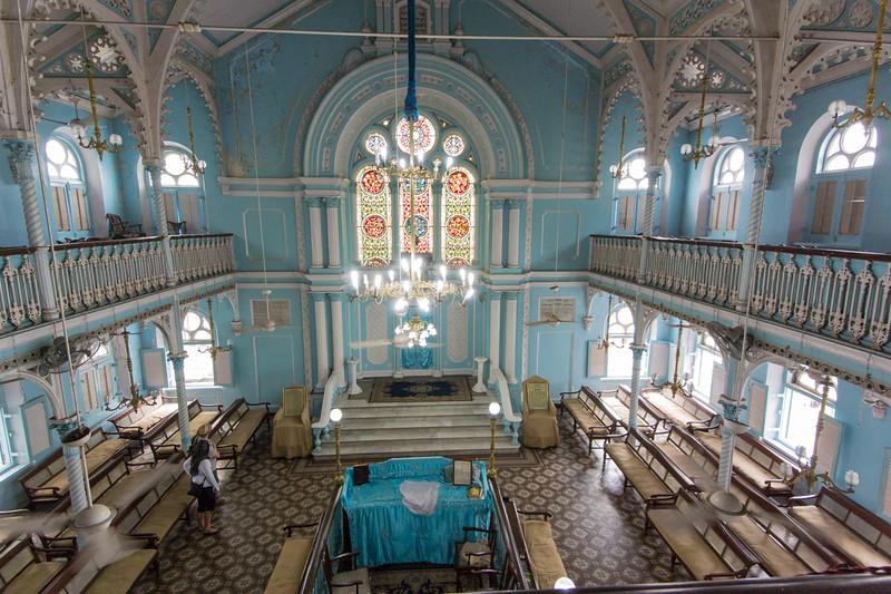 Synagogue in Mumbai.