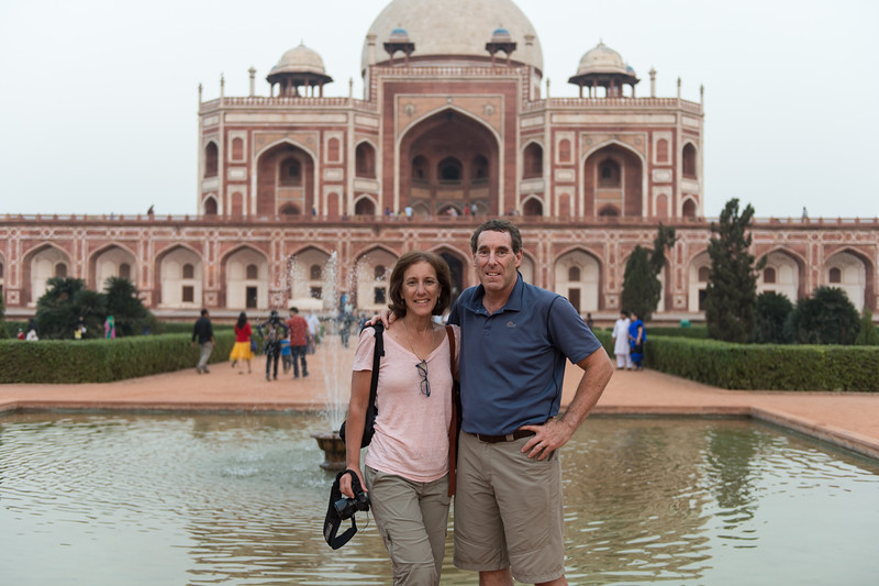 Lisa and I...Qutub Minar.