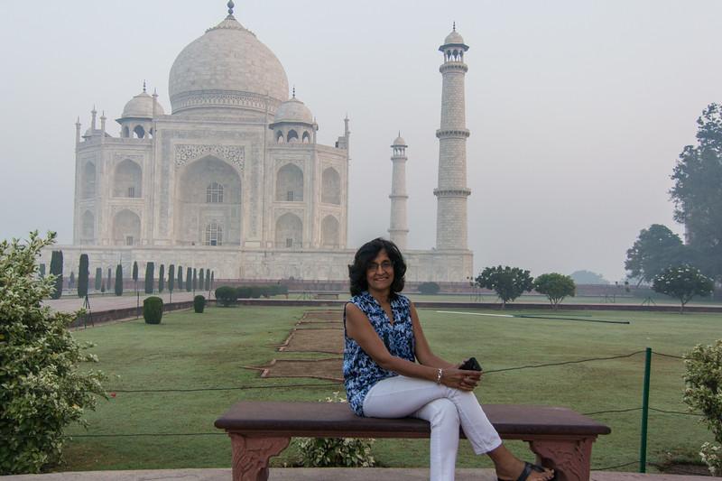 Chand at the Taj...