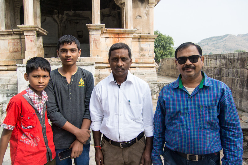 Some of the Udaipur locals liked having their picture taken..All smiles here!